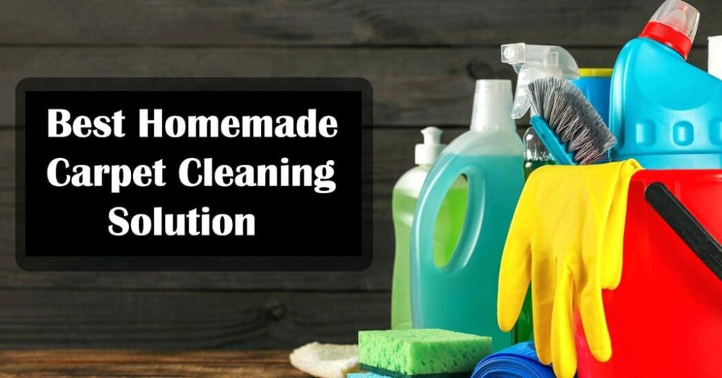 What Is the Best Homemade Carpet Cleaning Solution
