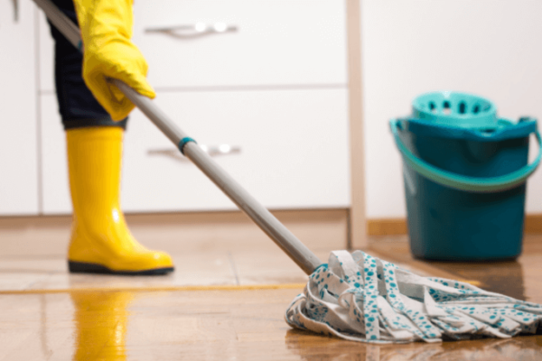 How to Clean Linoleum Floors with Bleach